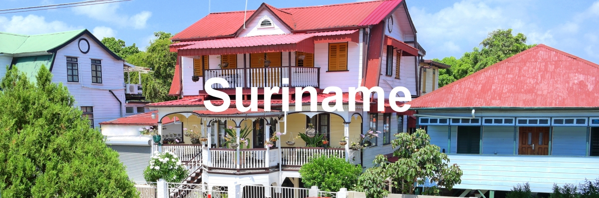 Vakantiewoning Suriname Paramaribo